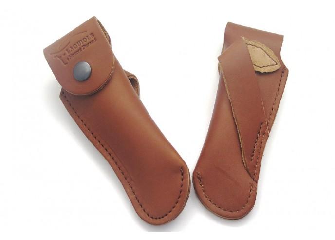 Étui cuir ceinture avec passant oblique