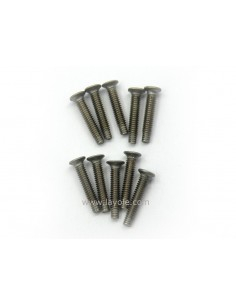 Bag of 10 stainless steel screws