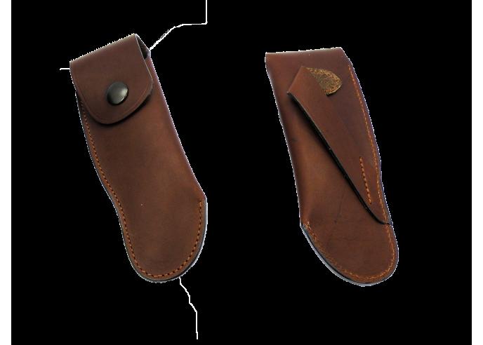 Gürteletuis aus Leder - 11 et 12 cm