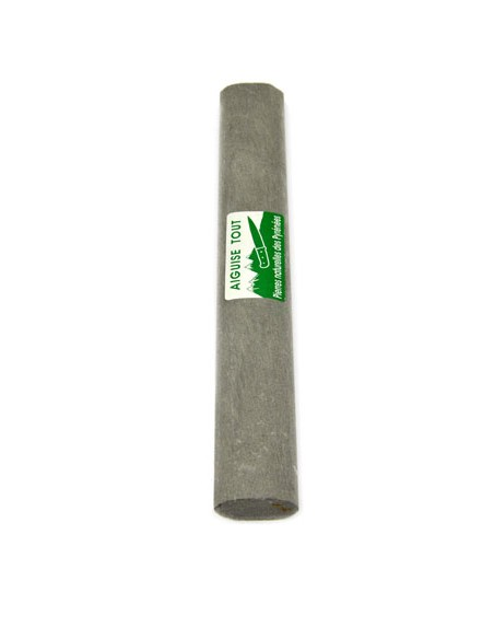 Natural whetstone, oval shape, useful for small and big knives