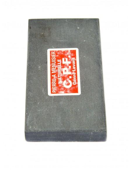 Natural whetstone for carpenters. Length 12 cm