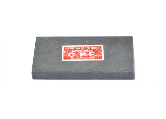 Natürlichen Schleifsteine für Schreiner. Länge 12 cm