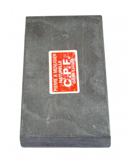 Natural whetstone for carpenters. Length 14 cm