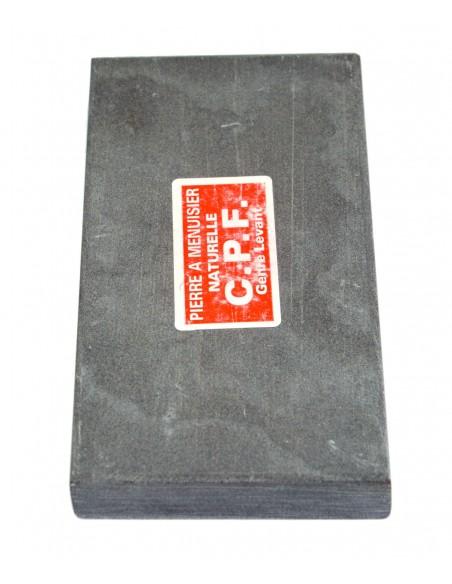 Natürlichen Schleifsteine für Schreiner. Länge 14 cm