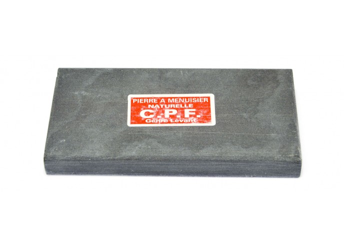 Natural whetstone for carpenters. Length 14 cm