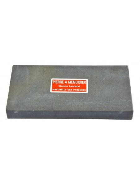 Natürlichen Schleifsteine für Schreiner. Länge 16 cm