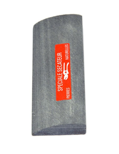 Natürlichen Schleifsteine. Seine halbrunde Form ist für secateurs vollkommen.