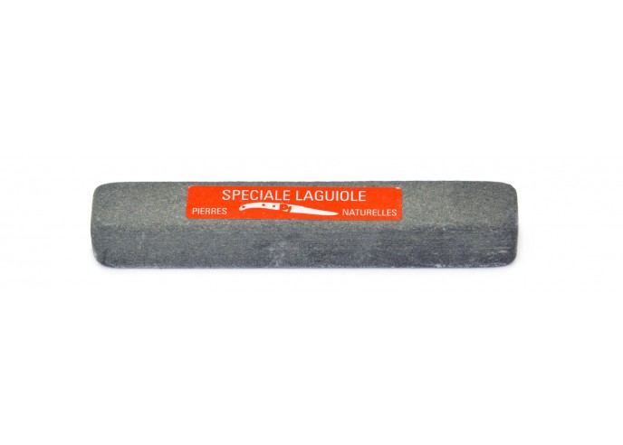 Natural whetstone. Useful for small Laguiole and kitchen knives