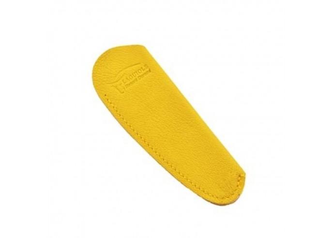Étui cuir de poche avec logo gravé