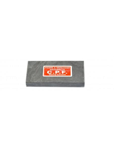 Natural whetstone for carpenters. Length 10 cm