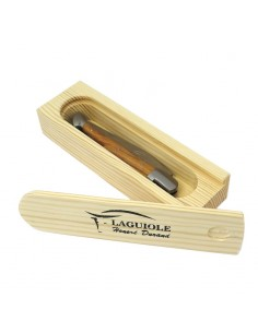 Storage box for folding knife and sommelier
