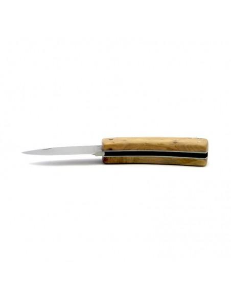 Laguiole hunting knife custom, 9 cm, juniperwood