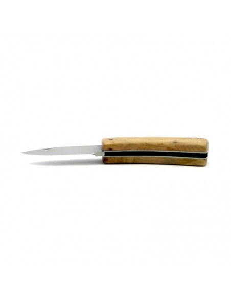 Laguiole Pliant de Chasse Custom, 9 cm, plein manche,genévrier