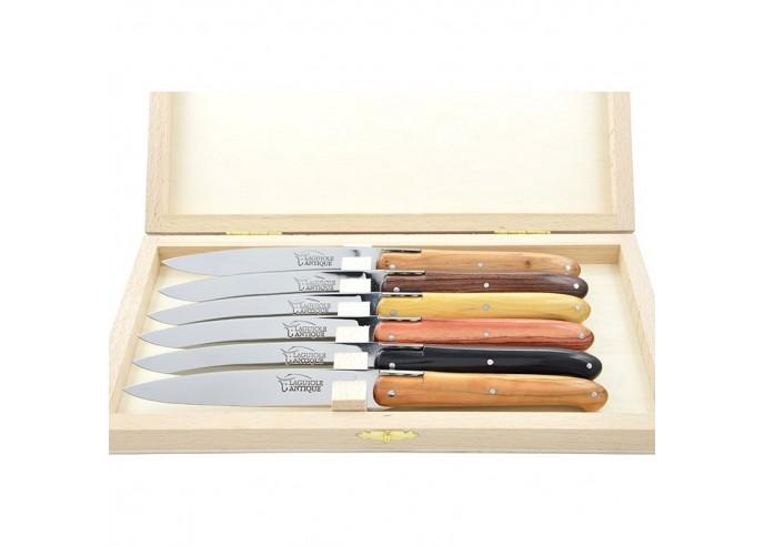"""Laguiole steak knives """"Antique"""",..."""