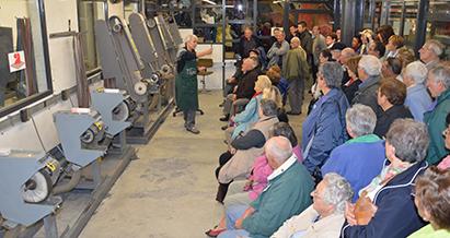 Visites des ateliers de la Coutellerie Honoré Durand à Laguiole en Aveyron