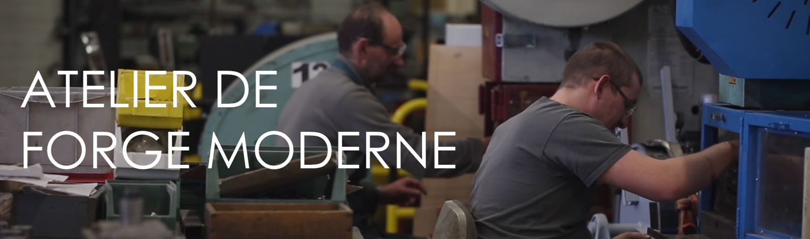 Atelier de forge moderne