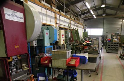 Visite technique coutellerie et forges Honoré Durand à Laguiole Aveyron