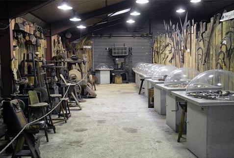 Musée du couteau Laguiole Aveyron France
