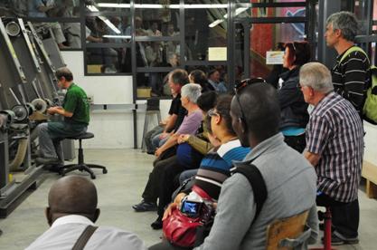 Visite ateliers de la coutellerie Honoré Durand à Laguiole Aveyron France